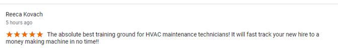 Google My Business Review | AATA HVAC School