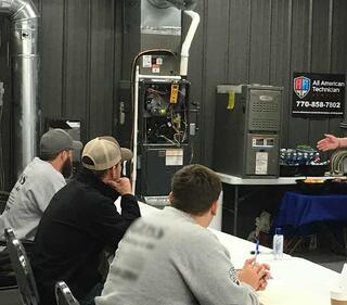 Technician training classes for HVAC certification