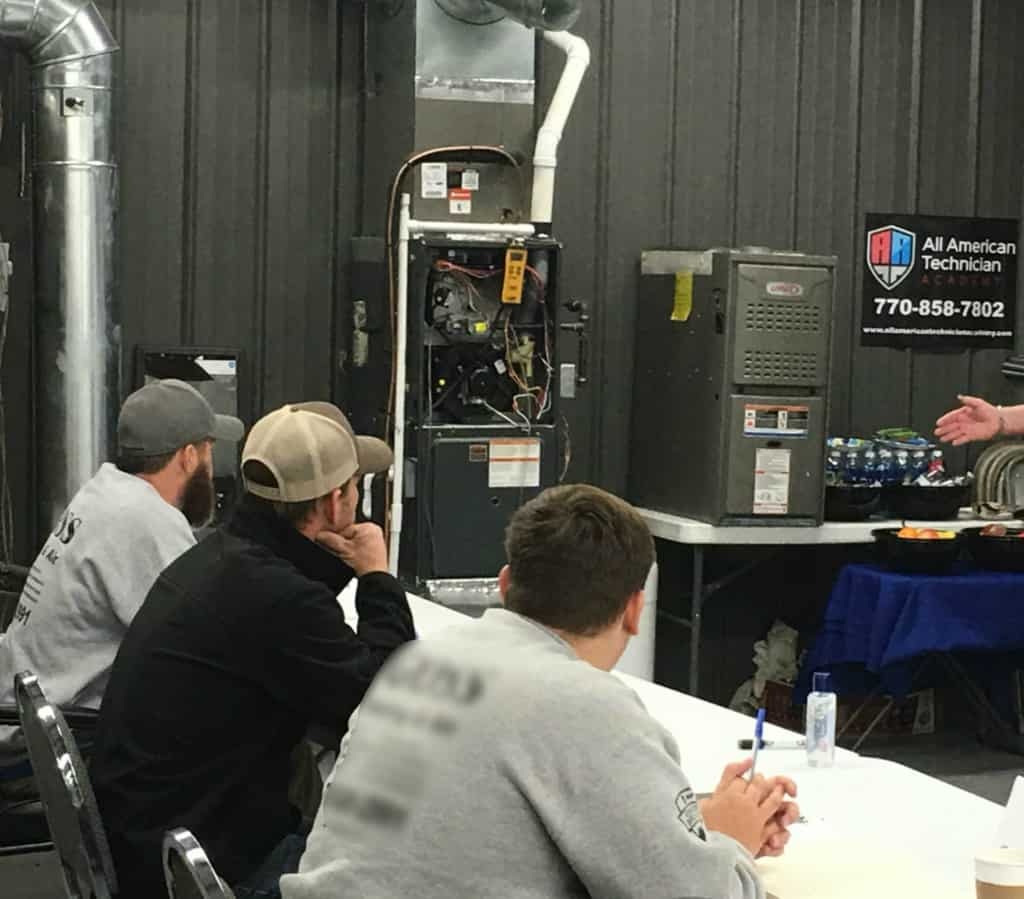 Students at our Technician Training Academy